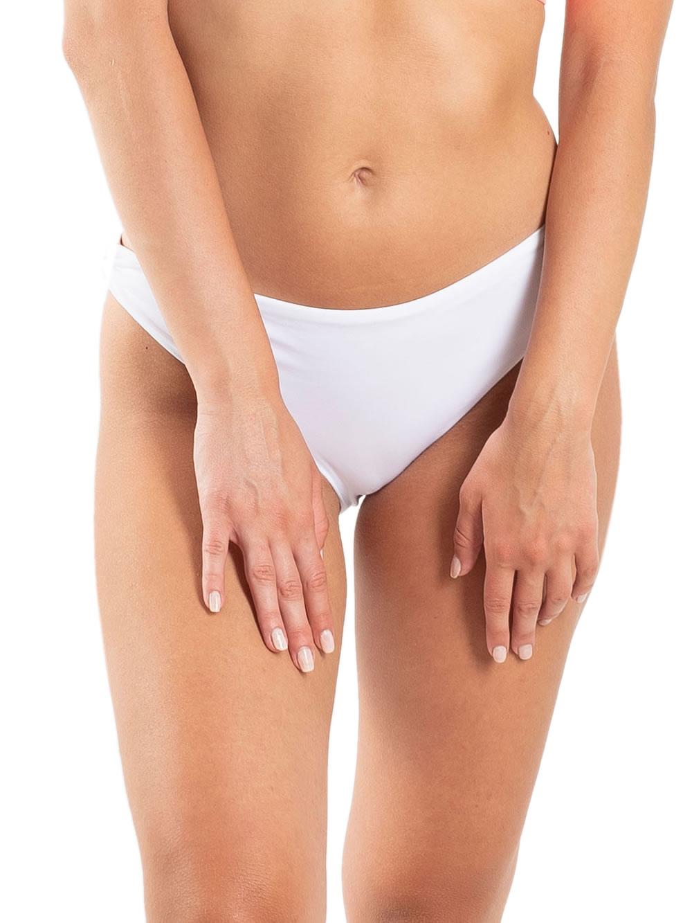 Μαγιό BLUEPOINT Bikini Κανονικό Φαρδύ - Χωρίς Ραφές - Καλοκαίρι 2021 Λευκό