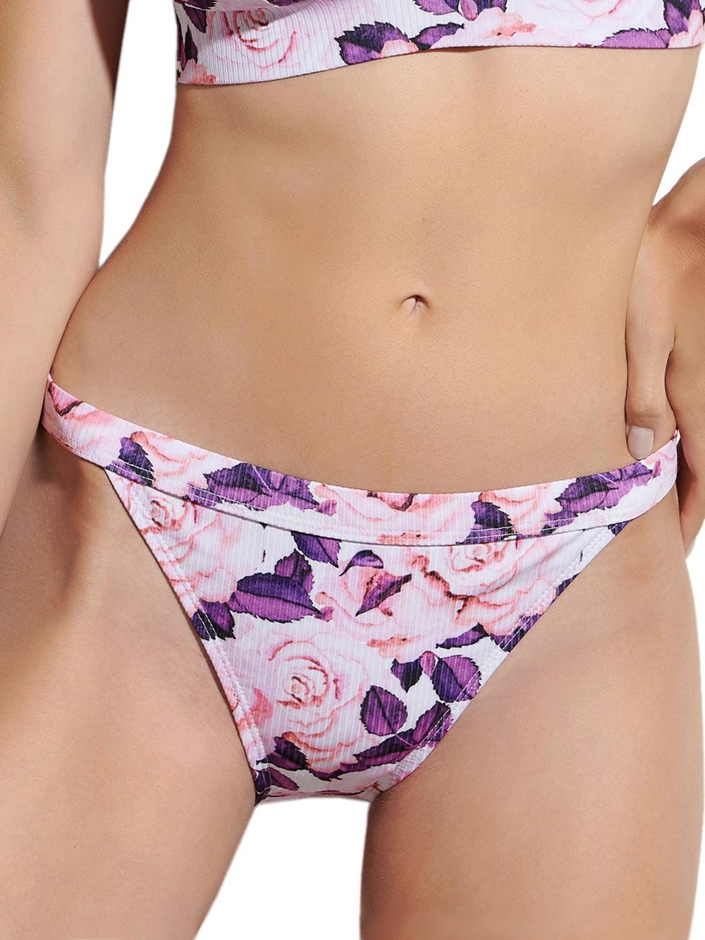 Μαγιό BLU4U Blush - Bikini Κανονικό Κοφτό - Rib Ύφασμα - Καλοκαίρι 2021