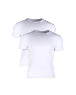 Minerva MicroCotton Αντρική Φανέλα T-shirt Comfort - Συσκευασία με 2