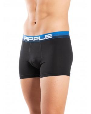 Ανδρικό Boxer apple 110936 black-blue μπροστά