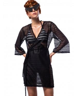 καφτάνι beachwear bluepoint 2008428-02 μπροστά