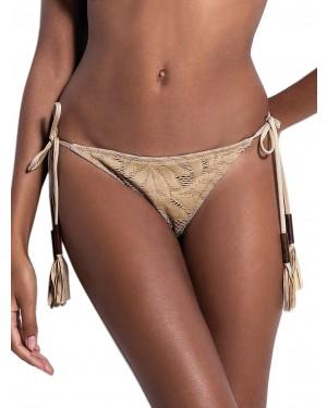 Μαγιό BLUEPOINT Nudism - Bikini Κανονικό Κοφτό - Πλεκτό Σχέδιο - Δένει στο Πλάι - Καλοκαίρι 2019