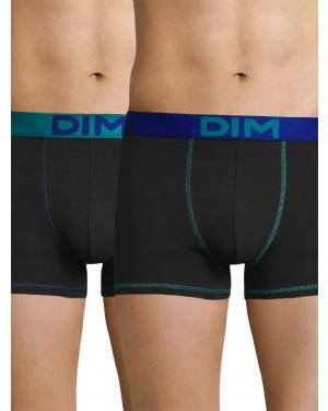 DIM Ανδρικό Boxer 6W0 - Cotton Stretch - Ελαστικό Βαμβάκι - Πακέτο με 2 - Καλοκαίρι 2019