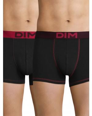 DIM Ανδρικό Boxer 86W - Cotton Stretch - Ελαστικό Βαμβάκι - Πακέτο με 2 - Καλοκαίρι 2019