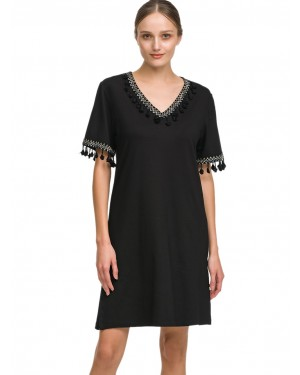 γυναικείο φόρεμα beachwear giota 1586 μπροστά
