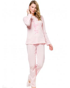 γυναικεία πυτζάμα harmony 101931 pink