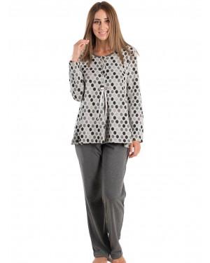 KARE Πυτζάμα - Γεμάτο Βαμβάκι - Πλεχτό Look - Fleece Επένδυση - Smart Pick 19/20