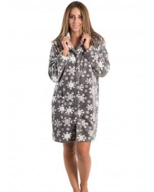 Ρόμπα Πολυτελείας KARE - Ζεστό & Απαλό Fleece - All Over Σχέδιο - Smart Pick 19/20