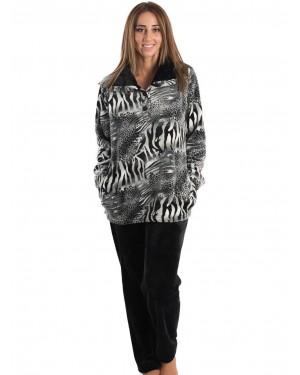 Ρόμπα Πολυτελείας KARE - Ζεστό & Απαλό Fleece - Animal Σχέδιο - Smart Pick 19/20