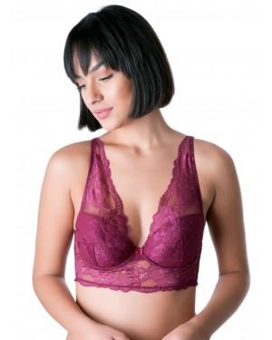 Σουτιέν LORMAR Lace Bralette Magica - Ενίσχυση & Μπανέλα
