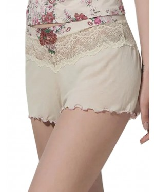 LUNA Σορτς Dahlia - Floral Σχέδιο & Δαντέλα