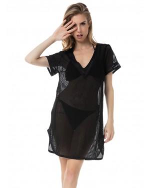 γυναικείο φόρεμα beachwear minerva 51782-045 μπροστά