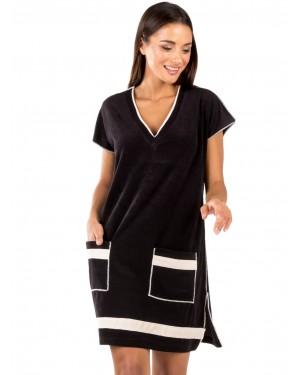 γυναικείο φόρεμα παραλίας minerva 51788-045 μπροστά