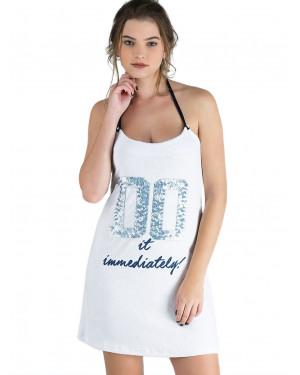 φόρεμα rachel 11915 white