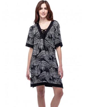 φόρεμα secret point 121-654 μπροστά