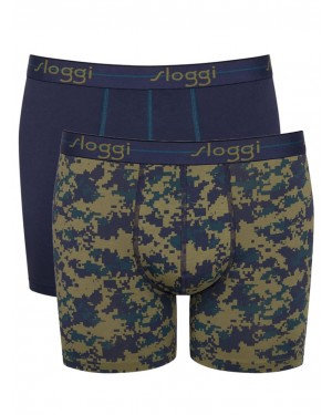 SLOGGI Men Start Short V010 - Αγνό Βαμβάκι - Πακέτο με 2