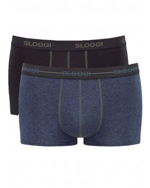 Sloggi Men Start Hipster - Αγνό Βαμβάκι - (Πακέτο με 2)