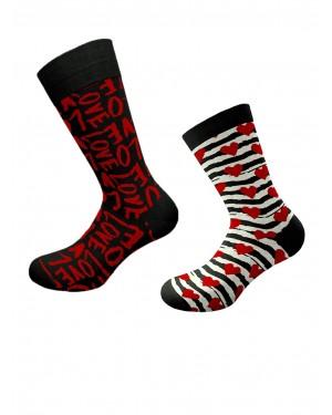 κάλτσες walk valentine gift box