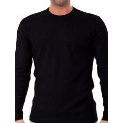 ανδρικό t-shirt apple 410560 μαύρο