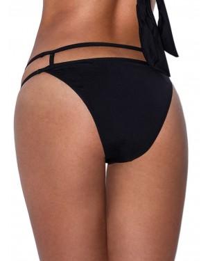 Μαγιό Bluepoint See Through Bikini - Κανονικό Κοφτό - Λωρίδες & Χρυσά Στοιχεία