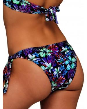 Μαγιό BLU4U Purple Tropics - Bikini Κανονικό - Δένει στο Πλάι - Καλοκαίρι 2019