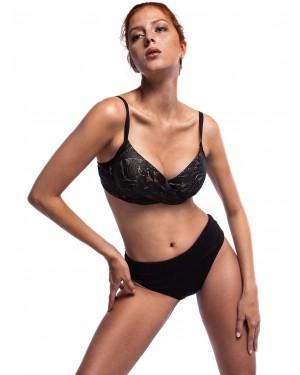 Μαγιό BLUEPOINT Bra Black Lace - Μεγάλο Στήθος - Ενίσχυση & Μπανέλα - Καλοκαίρι 2020
