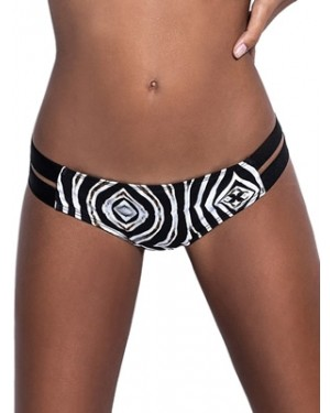 Μαγιό BLUEPOINT 906511 Zebra Bikini Κανονικό - Λωρίδες Ανοίγματα - Καλοκαίρι 2019
