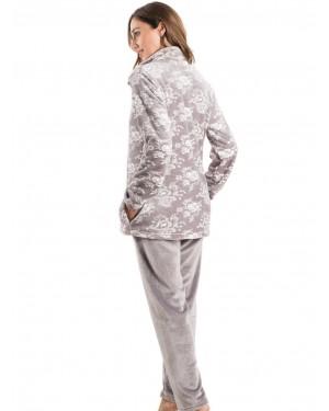 BONNE NUIT Πυτζάμα Πολυτελείας - Ζεστό & Απαλό Fleece - 9519