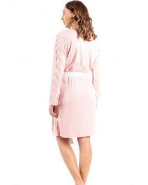 γυναικεία ρόμπα bonne nuit 9717 pink πίσω