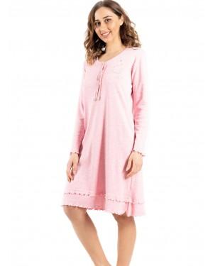 γυναικείο νυχτικό bonne nuit 9735 pink πλάι