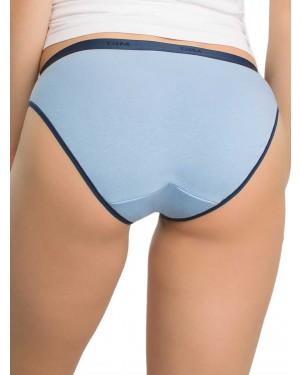DIM Γυναικεία Σλιπς Les Pockets Cotton 84M - Βαμβακερά - Πακέτο με 3 - Καλοκαίρι 2019