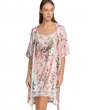 Νυχτικό ΓΙΩΤΑ Homewear - Απαλό Σατέν - Floral Σχέδιο - Καλοκαίρι 2021