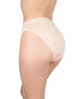 Σλιπ Bikini Κανονικό GK Allday - Φαρδύ Ψηλό - Ελαστικό Βαμβάκι - 3 Τεμάχια