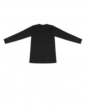 παιδική ισοθερμική μπλούζα gkapetanis 9100 μαύρο