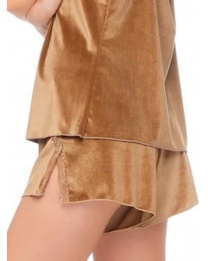 Shorts Γυναικείο GOSSIP Bijoux - Απαλό Βελούδο & Δαντέλα - 51187-836