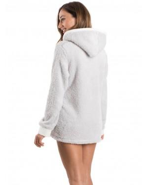 Ρόμπα Πολυτελείας HARMONY Γούνινη Fleece - Extra Ζεστή - 47710