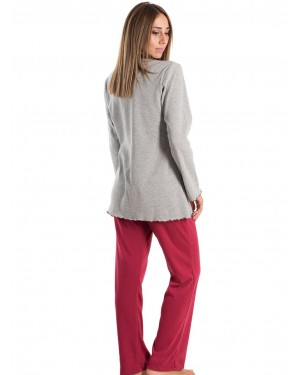 KARE Πυτζάμα - Γεμάτο Βαμβάκι - Fleece Επένδυση - Γούνινο Σχέδιο - Smart Pick 19/20