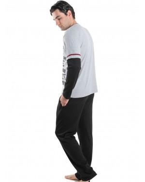 Ανδρική Πυτζάμα Homewear KARE - 100% Βαμβακερή - tp004