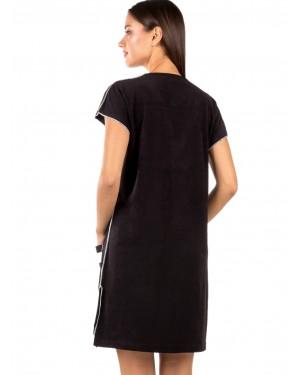 γυναικείο φόρεμα παραλίας minerva 51788-045 πίσω
