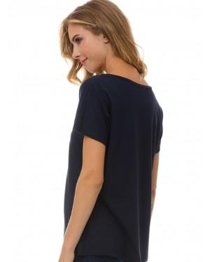 γυναικείο t-shirt minerva 51976-101 πίσω