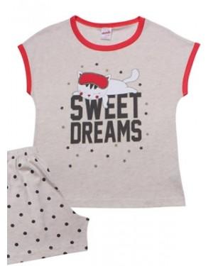 Παιδική Πυτζάμα MINERVA Sweet Dreams - 100% Αγνό Βαμβάκι - Καλοκαίρι 2021