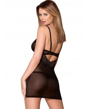 γυναικείο νυχτικό obsessive 852 chemise thong πίσω
