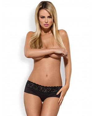 Obsessive LACEA Shorties - 2 PACK - Φαρδιά Δαντέλα