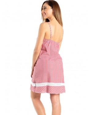 φόρεμα rachel 12357 πίσω