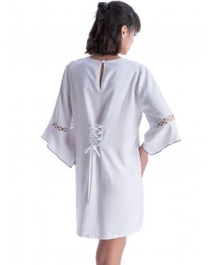 φόρεμα beachwear rachel 12596 πίσω