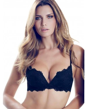 LORMAR SET Desiderio - Push Up Bra Χωρίς Μπανέλα + Brazilian Slip