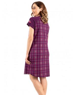 νυχτικό vienetta 008203 purple πίσω
